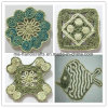Vector que teje a mano único Tablemat/Placemat/Coaster/Cupmat decorativo