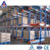 Racking elevado do armazenamento da canaleta de Cusotmized da capacidade de carga