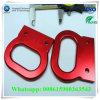 Kundenspezifische Aluminiumlegierung Druckguss-anodisierengriff-Handschellen-Art
