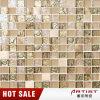 Glaskristallmischungs-Harz-beige Mosaik für Wohnzimmer