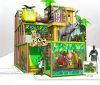 Beifall-Unterhaltung scherzt Dschungel-themenorientierten Innenspielplatz
