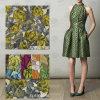 Venta caliente de nylon Tela floral de encaje para la ropa (1194)