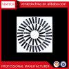 HAVC Systems-Ventilations-Metalljustierbarer Schaufel-Strudel-Diffuser (Zerstäuber)