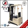 Elektrischer Gabelstapler der China-Qualitäts-Minirad-1t drei