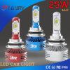 phare automatique de lumière de regain de phare de la lampe DEL de 6000lm 25W