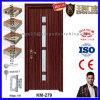Interior de madera de la puerta del PVC del MDF del precio barato