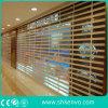 Porte Claire Transparente Automatique D'obturateur de Rouleau de Polycarbonate de Mémoire Commerciale