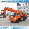 12 meses del auge de construcción de la maquinaria de grúa hidráulica usada garantía del carro para la venta
