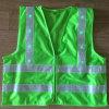 Gilet r3fléchissant de clignotement led verte de sûreté d'OEM