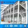 Plataforma da construção de aço do armazenamento do armazém