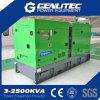 Grüne Farbe brachte Dieselgenerator-Set Cummins-250kVA zum Schweigen