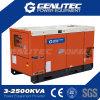 De Stille Generator van Kubota van de enige Fase 23kw (Kubota v3300-BG, Stamford PI144K)