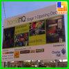 Ao ar livre projetar a bandeira de suspensão do diodo emissor de luz da impressão de Digitas do carrinho de exposição