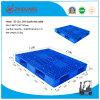 Rejilla doble Lados pesada cubierta Deber Rackable estante de la plataforma de plástico Pallet (ZG-1311)