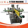 Máquina de etiquetado bilateral de la etiqueta engomada adhesiva automática completa
