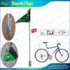 Il doppio ha rivestito bandierina di sicurezza della bici della bicicletta del PVC (A-NF15P07002)