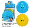 Het grappige Vliegende Stuk speelgoed van het Strand Disc&