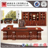 고전적인 나무로 되는 베니어 사무실 행정상 테이블 (NS-SL019)