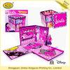 Cadre se pliant de empaquetage de jouet coloré pour la poupée (JHXY-PB0039)