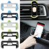 Sostenedor ajustable del enchufe de la salida de aire del coche de 360 grados para el teléfono móvil