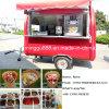 Calle Vending el carro móvil del alimento de /Kiosk del carro del alimento con el pabellón