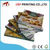 Libro colorido del cocinero de la manera de la laminación de la impresión en offset
