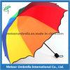 Paraguas plegable clasificado color del arco iris