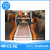 Folha automática Rewinder de Auminum e máquina do cortador para o rolo