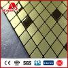 Mosaico Finished cepillado del ACP para el revestimiento de la pared del ajuste de la TV