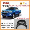 Fusées noires d'amortisseur de fusées universelles d'amortisseur pour les accessoires 2016 de Revo de fusées d'amortisseur de voûte de roue de la couverture 4WD d'amortisseur de voiture de Toyota Hilux