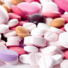 Étiquettes acides ferreuses du sulfate +Folic pour la santé
