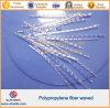 Волокно формы волны PP полипропилена