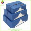 Cadre de empaquetage de cadeau de papier rigide élégant pour le bijou
