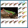 Trois Size Soft Lead Fish dans Multi Color Fishing Bait