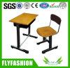 Solos escritorio y silla de madera para el estudiante (SF-06S)
