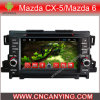 マツダCx5/Mazda 6のためのA9 CPUを搭載するPure Android 4.4 Car DVD Playerのための車DVD Player Capacitive Touch Screen GPS Bluetooth 2013年(AD-7146)