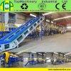 Lijn van het Flessenspoelen van de Kola van Topmachinery de Populaire Voor het Verpletteren van HDPE van het Huisdier van het Recycling de Flessen van PC van pvc met Zware Maalmachine
