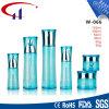 Botella de cristal de la loción de los cosméticos de la venta al por mayor del color verde (CHR8107)