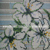 Glass maravilloso Mosaic Pattern de Flowers para Wall Decoration