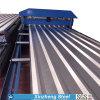 hoja de acero del material para techos acanalado del Galvalume de 55%Al-Zn Aluzinc/