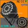 24*12W RGBW 5in1 DJ Disco Bar LED PAR Wash Light (sf-308)