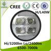 60W linterna del CREE LED para el Wrangler del jeep