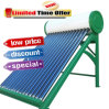 El tanque solar del calentador de agua de 150 litros como piezas para el calentador de agua solar