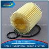 Filtro de petróleo de papel das peças de automóvel do núcleo (04152-YZZA5)
