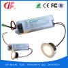 de 1-3W LED de secours lampe vers le bas avec la lumière Emergency de LED et la fonction de conducteur de secours