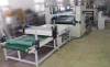 Máquina que lamina del suelo del PVC