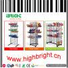 Supermarkt-Draht-Rasterfeld-Bildschirmanzeige-Regal für Imbiß