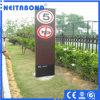 Señalización de Neitabond que hace publicidad del panel compuesto de aluminio