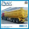 3 Radachsen Cargo Hydraulic Tipper Dump Semi Trailer für Sale