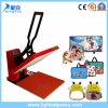 Machine manuelle de sublimation de la chaleur de T-shirt de machine de transfert thermique de la chaleur de Xy-003b 38*38cm de machine simple plate de presse